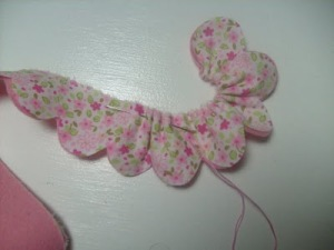 flor de tela patron 2