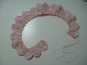 flor de tela patron 3