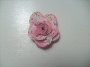 flor de tela patron 8