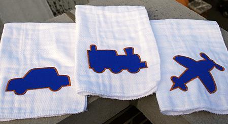 Divertidos repasadores para tu beb mi caja de costura for Apliques para toallas