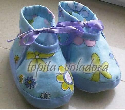 Zapatitos de bebe III « Mi caja de costura