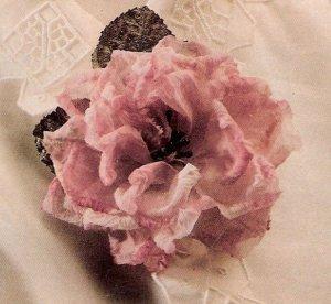 Flor de tela IV